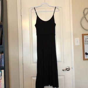 Black Dress with Spaghetti Straps